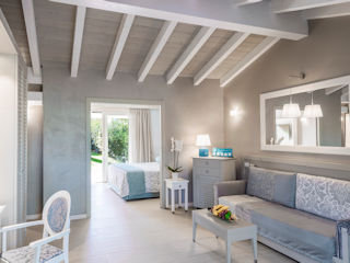 Forte Village - Castello- Luxury Family Bungalow - Living Room