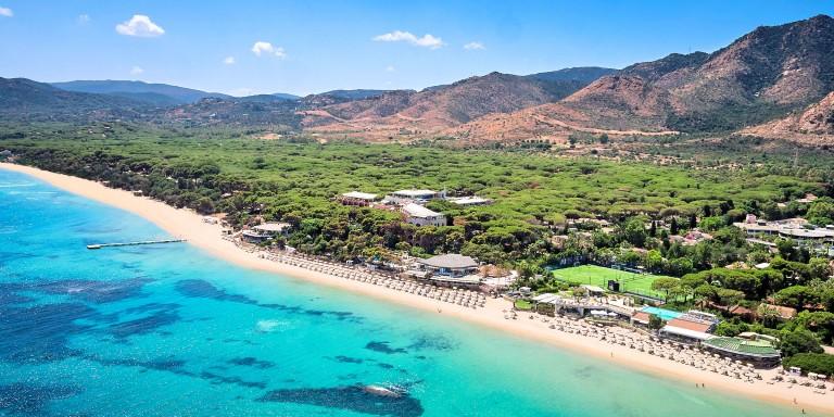 Forte Village Resort Aerial View