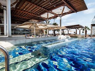 Columbia Beach Resort Cape Aspro Pool Bar