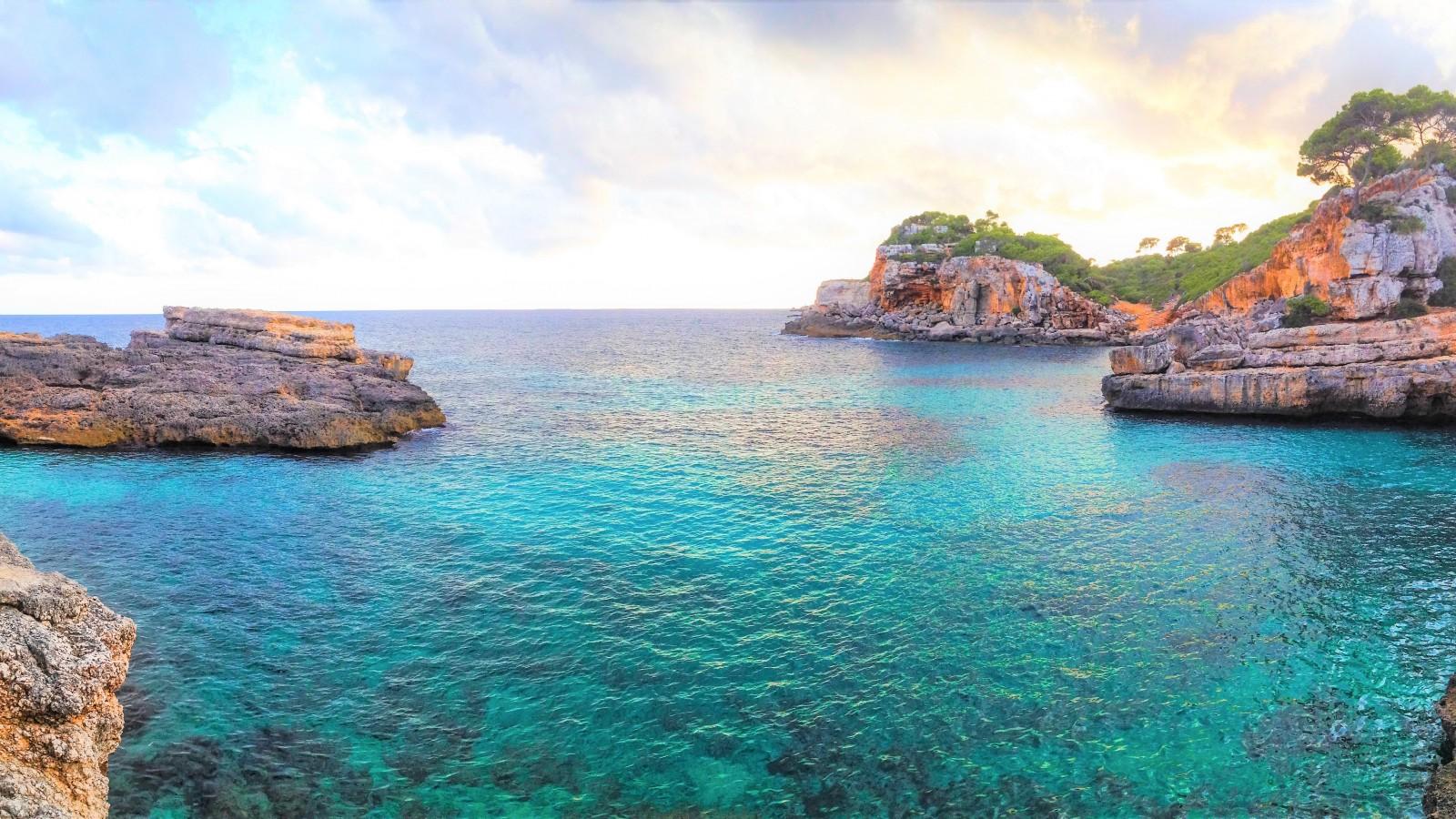 Cala Llombards, Mallorca, Balearic Islands