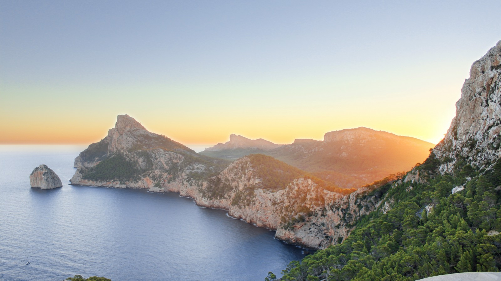Cap de Formentor in the Spanish Balearic Islands