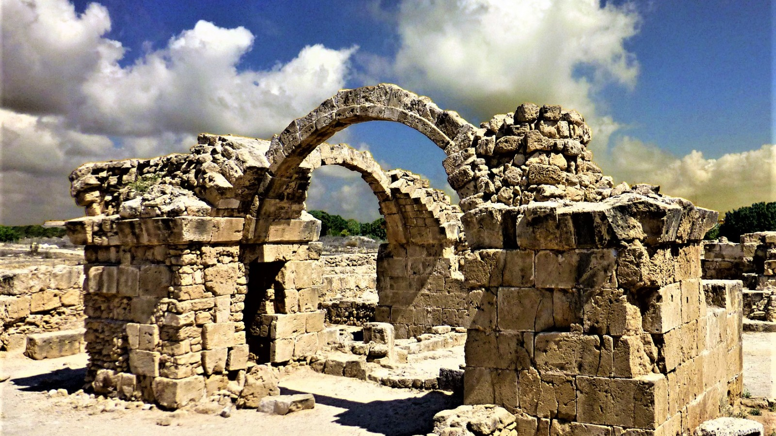 The Kato Pafos Archaeological Park is a designated UNESCO World Heritage Site