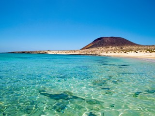 Playa Francesca in Lanzarote, the Canary Islands