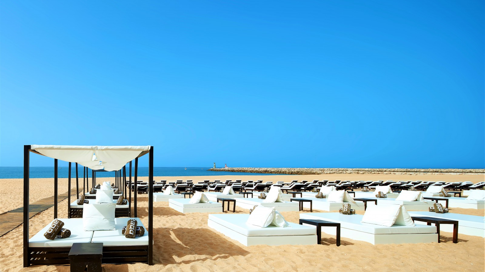 Vilamoura is a lavish resort in the Algarve, with stylish restaurants, bars and beach clubs