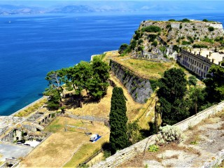 The grounds of Palaio Frourio (Old Fortress) are often used for art and culture exhibitions