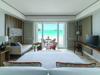 Junior Suite Hibiscus Beach Access, Shangri-La Le Touessrok