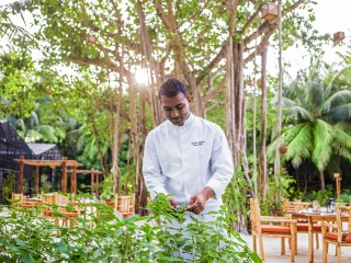Chef's Garden, One&Only Reethi Rah