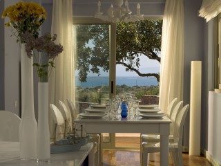 Residences' dining room, Domes of Elounda