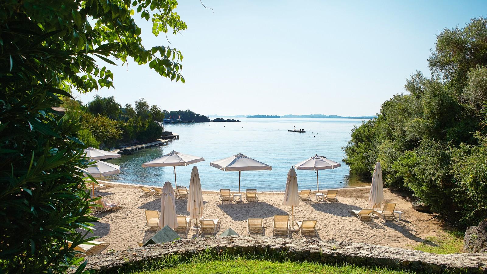 Grecotel Corfu Imperial Private Beach