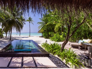 Beach Villa with Private Pool, One&Only Reethi Rah, Maldives