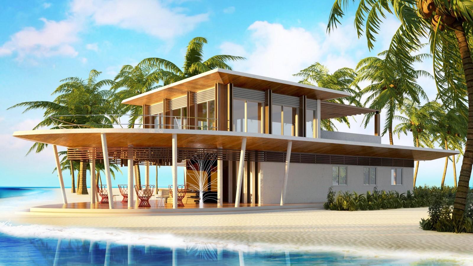 Arrival Pavilion, LUX* North Male Atoll