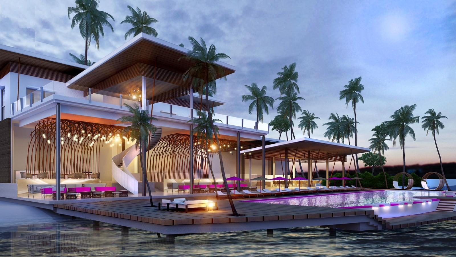 Main Restaurant, LUX* North Male Atoll