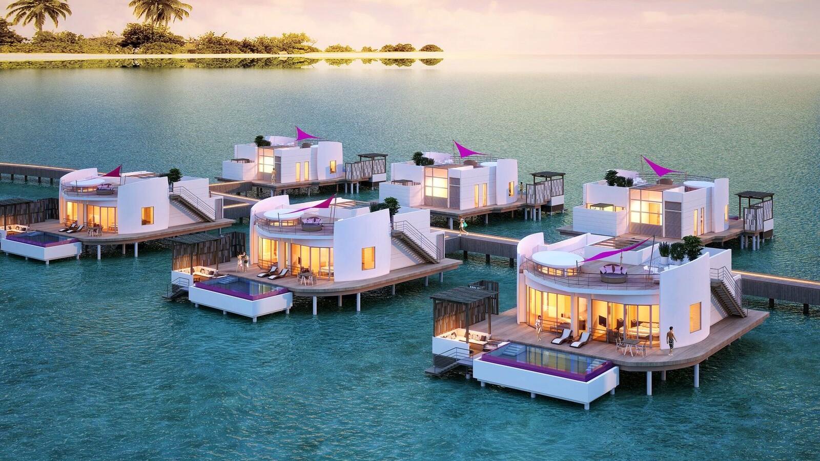 Superior Ocean Villa, LUX* North Male Atoll
