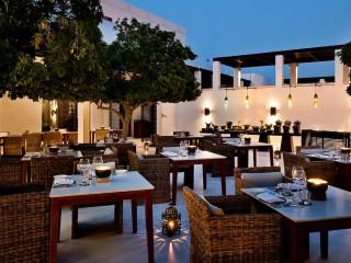 Arabian Courtyard at the Chedi Muscat