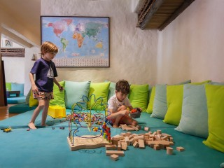 Chaicas Kids' Club at the Six Senses Zighy Bay