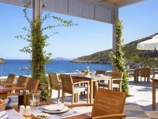Daios Cove Taverna restaurant