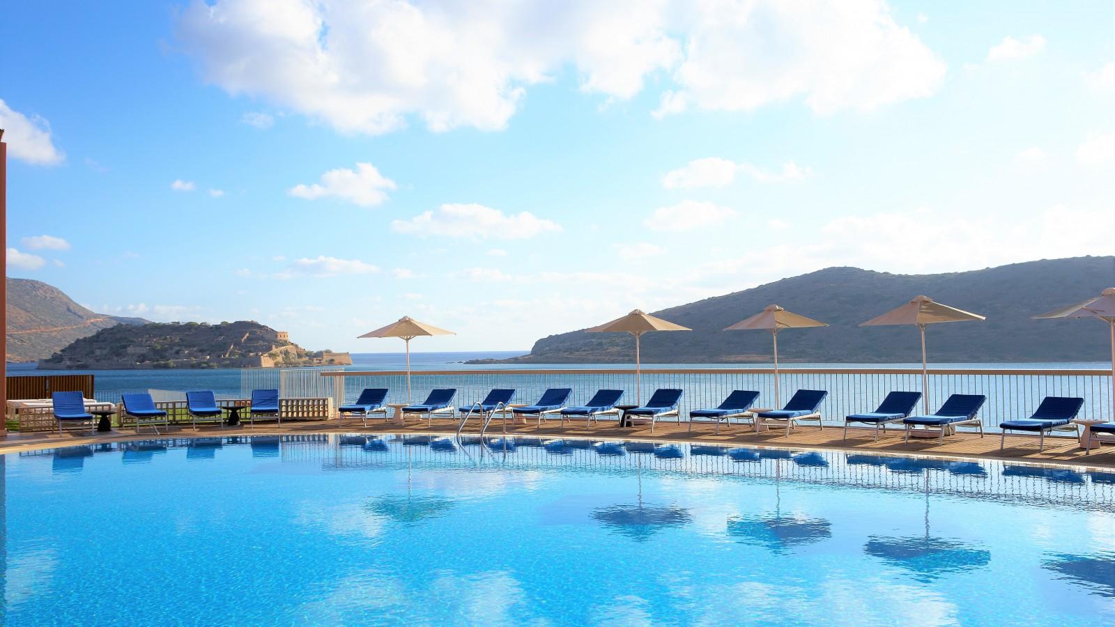 Pool at Domes of Elounda