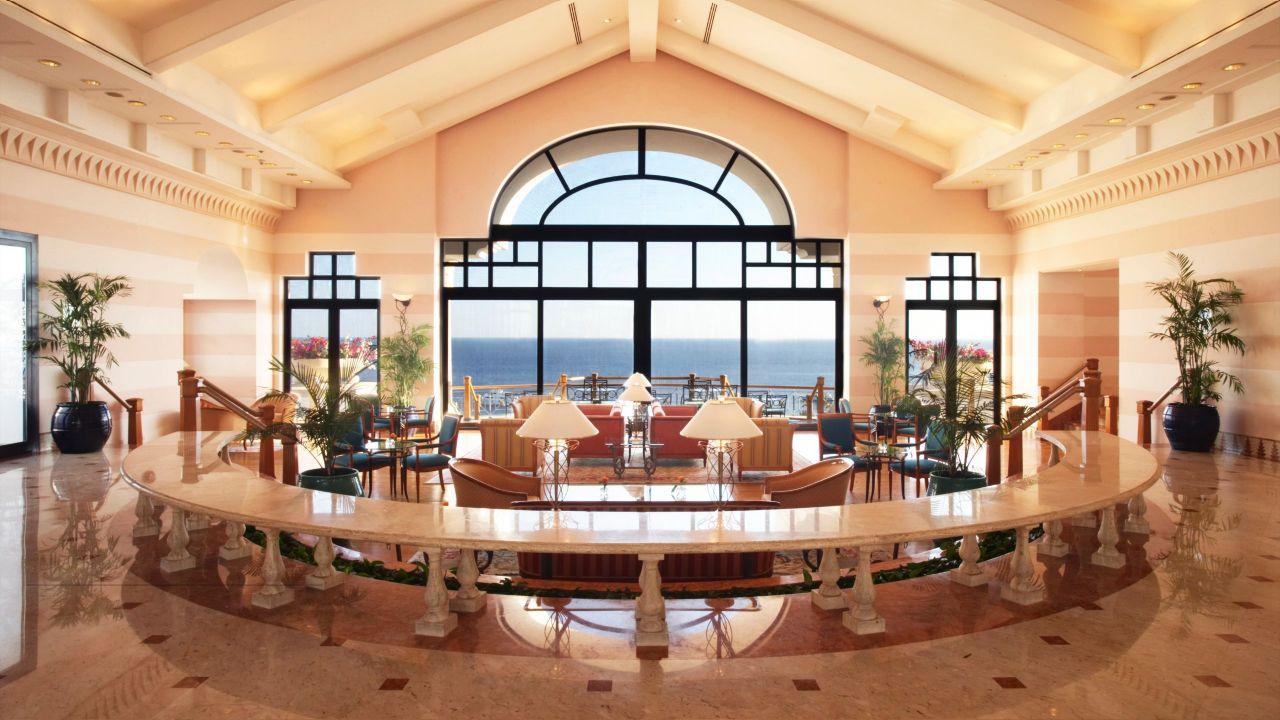The Azure restaurant at the Hyatt Regency Sharm el Sheikh Resort