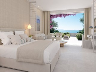 Junior Suite Private Garden Sea View, IKOS Aria