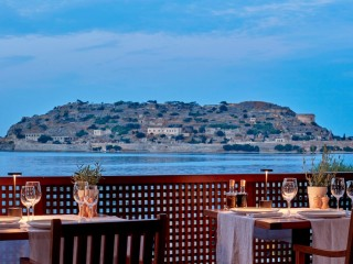 Isola Restaurant, Blue Palace