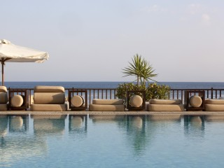 The Londa pool and sea view