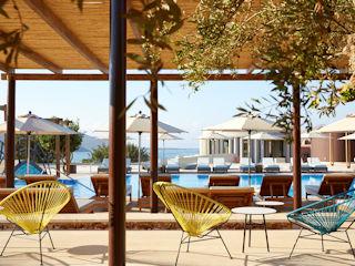 Domes of Elounda Domes Plaza Bar Pool