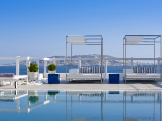 Poolside at Grace Mykonos