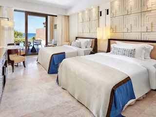 The Romanos Premium Infinity Sea View Twin Beds