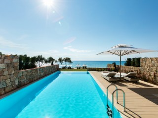 Two bedroom suite, private pool, Sani Club