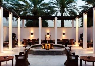 The Shisha Lounge at the Chedi Muscat