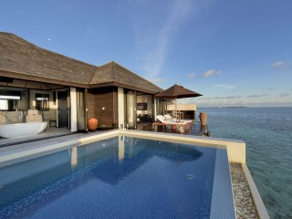 Sunset Water Suite, Lily Beach Resort & Spa