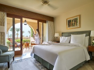 Bedroom of the Two Bedroom Residential Suite Pool Side at the Four Seasons Sharm el Sheikh