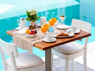Breakfast at Grace Mykonos