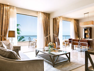 Sani Asterias Deluxe Two Bedroom Family Suite Beach Front