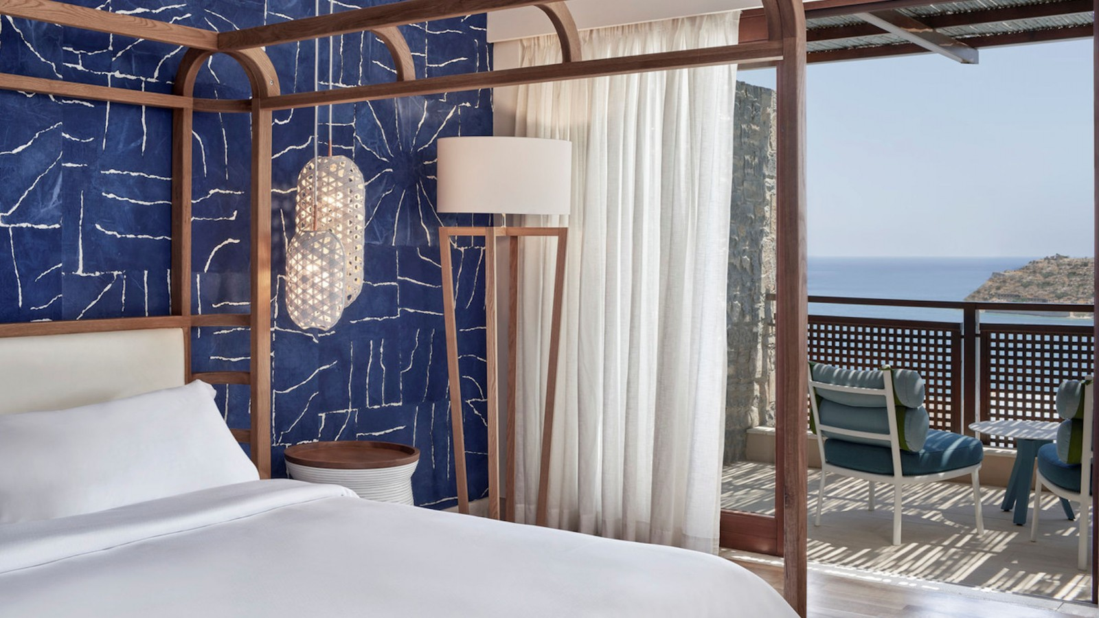 Blue Palace Guestroom