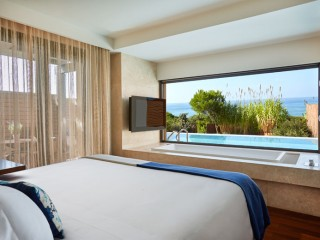 The Romanos Ionian Exclusive Grand Infinity Suite Sea