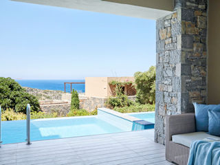 Daios Cove Deluxe Junior Suite with Individual Pool