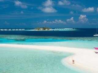 LUX* North Male Atoll Ariel View