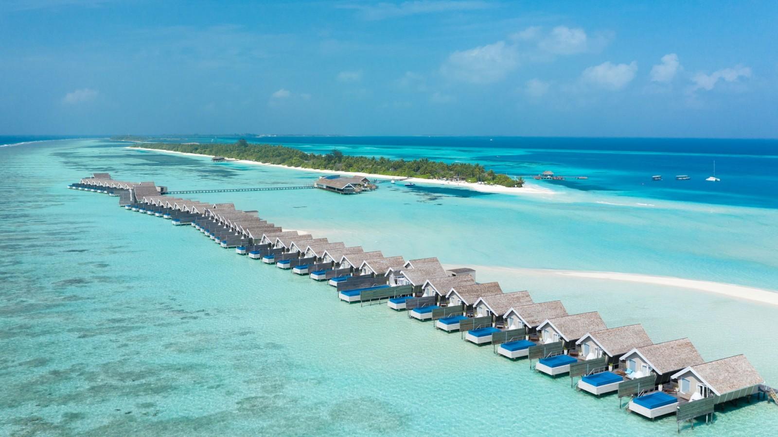 LUX South Ari Atoll Ariel View