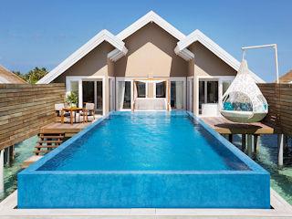 LUX South Ari Atoll Temptation Water Villa