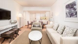 Pine Cliffs One & Two Bedroom Ocean Suite Living Room