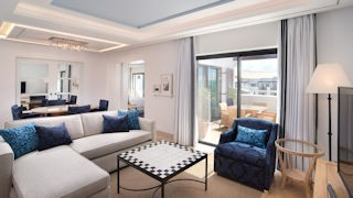 Pine Cliffs Hotel _ Neptuno Suite Living Room
