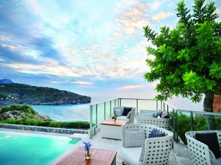 Infinity Pool Bar Terrace, Jumeirah Port Soller Hotel