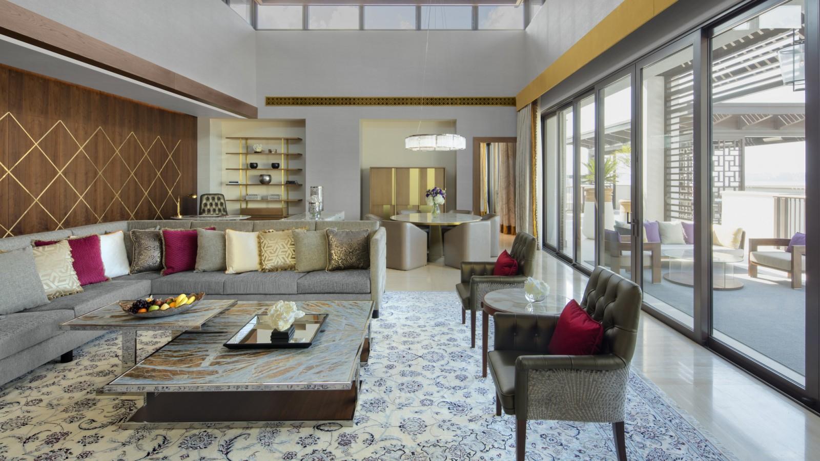 Jumeirah Al Naseem - Presidential Suite - Living Room