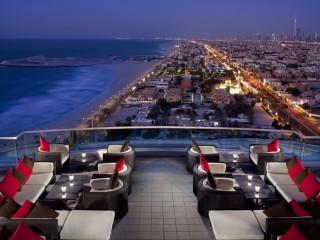 Jumeirah Beach Hotel - Uptown Bar - Terrace