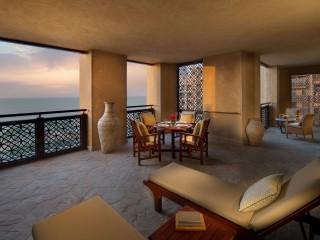 Madinat Jumeirah - Jumeirah Mina A_Salam - Ocean Suite terrace