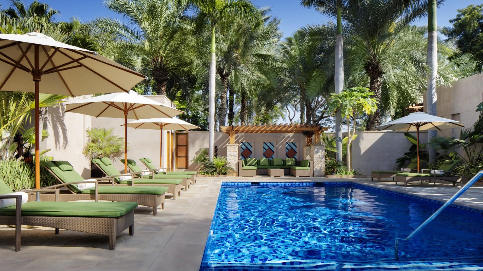 Madinat Jumeirah - Talise Spa - outdoor pool
