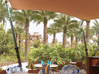 Waterpark restaurants, Atlantis The Palm