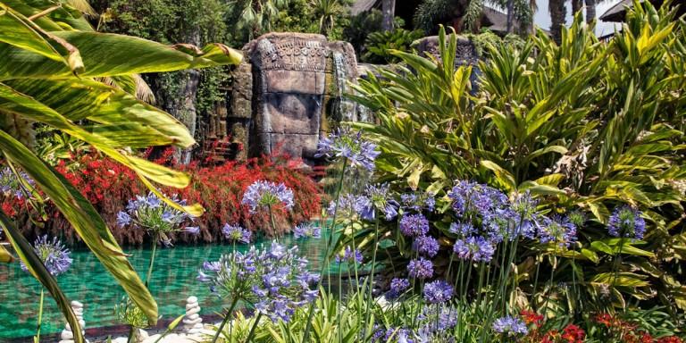 Asia Gardens Statue