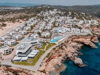7Pines Ibiza Hotel Ariel View